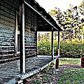 Porch Side Of Old House by Kristy Cotone