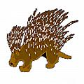 Porcupine by Frederick Holiday