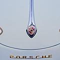 Porsche 1600 Hood Emblem by Jill Reger