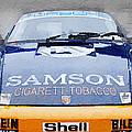 Porsche 911 Front End Watercolor by Naxart Studio
