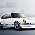 Porsche 911 RS 1973 by Etienne Carignan