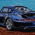 Porsche 911 Turbo  by Juan Mendez