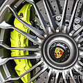 Porsche 918 Wheel by Dennis Hedberg