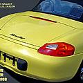 Porsche Boxster Posterior by Michael Moore