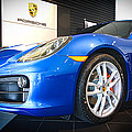 Porsche Cayman S In Sapphire Blue by E Karl Braun