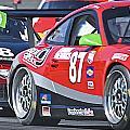 Porsche Gt In Traffic by Dave Koontz