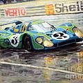 Porsche Psychedelic 917lh  1970  Le Mans 24  by Yuriy Shevchuk