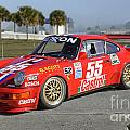 Porsche Rsr Race Car At Sebring by Tad Gage