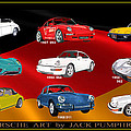 Porsche Times Nine by Jack Pumphrey