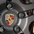 Porsche Vorsteiner Wheel Logo by Dan McManus