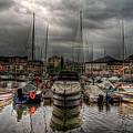 Port At Como Lake by Roberto Pagani