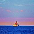 Port Austin Reef Light by Daniel Thompson