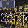 Port Clyde Pier On The Coast Of Maine by Keith Webber Jr