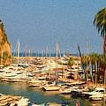 Port De Fontvieille by Jeffrey Kolker