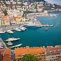 Port Du Nice by Inge Johnsson