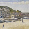 Port En Bessin by Georges Pierre Seurat