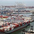 Port Of Long Beach by Bill Cobb