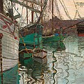 Port of Trieste by Egon Schiele