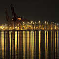 Port Of Vancouver Bc Canada by Jit Lim