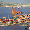 Port Of Vancouver Panorama by Jit Lim