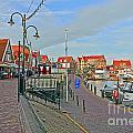 Port Of Volendam by Elvis Vaughn