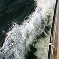 Port Side Crusing On Casco Bay by Patricia E Sundik