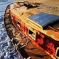 Port Side Down Captain - Outer Banks by Dan Carmichael