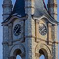 Port Washinton Court House Steeple 1  by Susan McMenamin