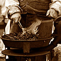 Portable Forge Circa 1800s by David Lee Thompson
