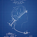 Portable Hair Dryer Patent From 1968 - Blueprint by Aged Pixel