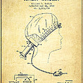 Portable Hair Dryer Patent From 1968 - Vintage by Aged Pixel