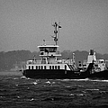 portaferry ferry crossing strangford lough on a stormy day Portaferry county down by Joe Fox