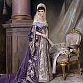 Portait Of Empress Maria  Fyodorovna by Mountain Dreams