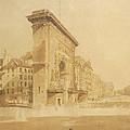 Porte St Denis, Paris by Thomas Girtin