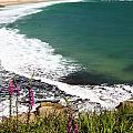 Porthcurno Cornwall by Graham Custance