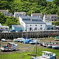 Porthleven Harbor - Low Tide by Brian Jannsen