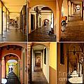 Porticos Of Padua No 2 by Sabine Jacobs