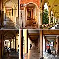 Porticos Of Padua No 4 by Sabine Jacobs