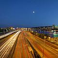 Portland City Blue Hour by David Gn