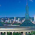 Portland Convention Center, Morning by Panoramic Images