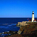 Portland Head Light Panoramic View by Don Kuing