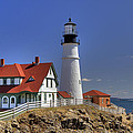 Portland Head Light by Joann Vitali