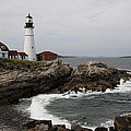 Portland Head Light - M E by Christiane Schulze Art And Photography