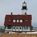 Portland Head Lighthouse 8512 by Joseph Marquis