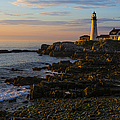 Portland Head Lighthouse at Dawn by Diane Diederich
