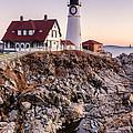 Portland Head Lighthouse Cape Elizabeth Maine by Dawna Moore Photography