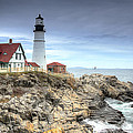 Portland Head Lighthouse by Donna Doherty