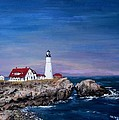 Portland Head Lighthouse by Jack Skinner