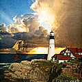 Portland Head Lighthouse by Lianne Schneider