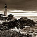 Portland Head Lighthouse Sunrise by Alana Ranney